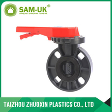 PVC butterfly valve ( handle lever type )