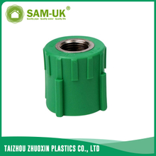 PPR brass female coupling for both hot and cold water