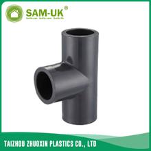 PVC reducing pipe tee Schedule 80 ASTM D2467