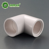Plastic threaded schedule 40 1 inch PVC female pipe elbow for building