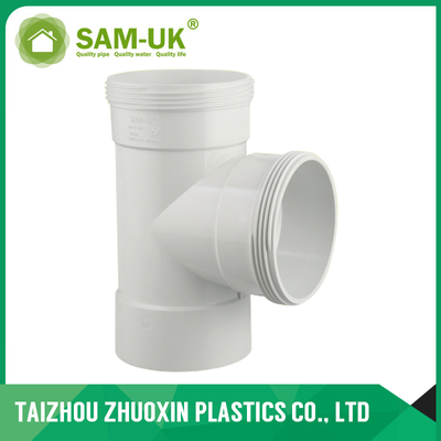 AS-NZS 1260 standard PVC COMBO INSPECTION TEE