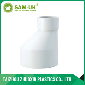 AS-NZS 1260 standard PVC LEVEL INVERT REDUCER