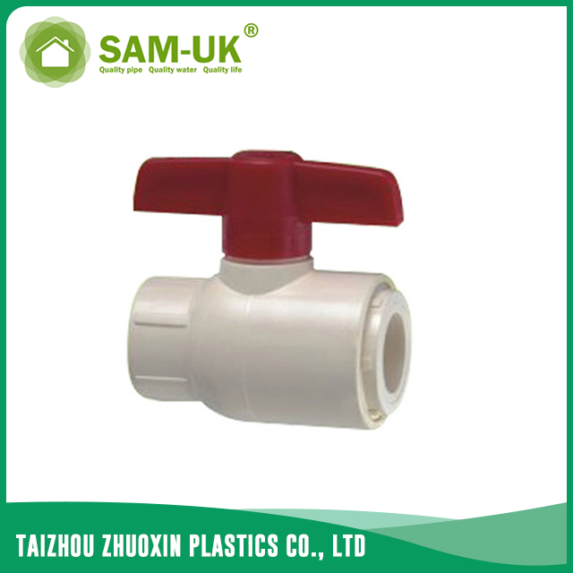 CPVC single union valve for water supply