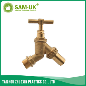 Brass hose tap for water supply
