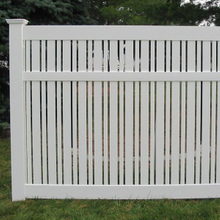 Vinyl Semi-Privacy Fence DY104