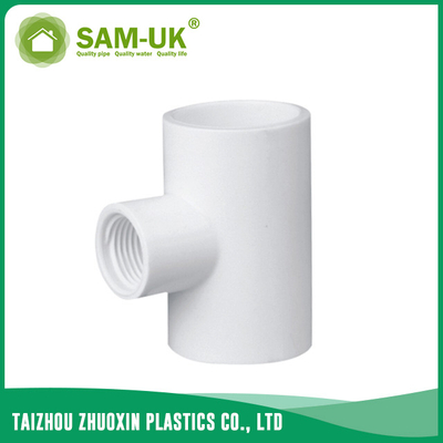 PVC reducing female tee for water supply Schedule 40 ASTM D2466
