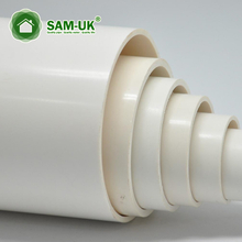 6 in x 10 ft solid pvc sewer drain pipe for kitchen sink