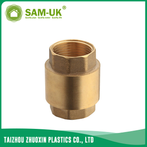 Brass spring check valve for water supply