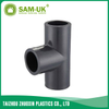PVC reducing pipe tee Schedule 80 ASTM D2467